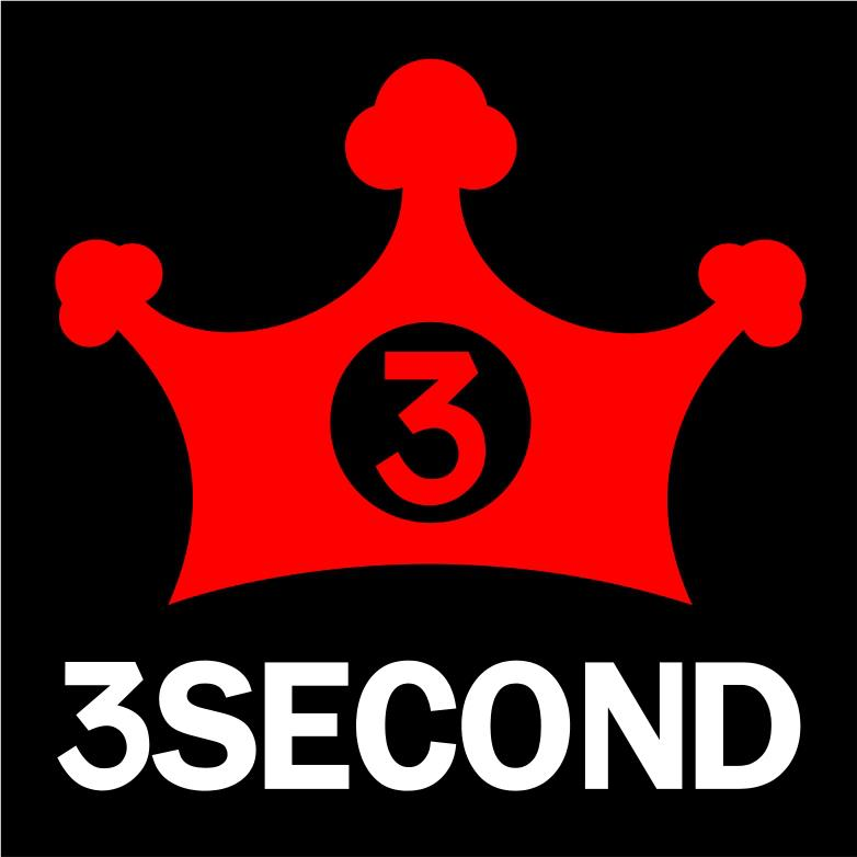 3second clothing logo