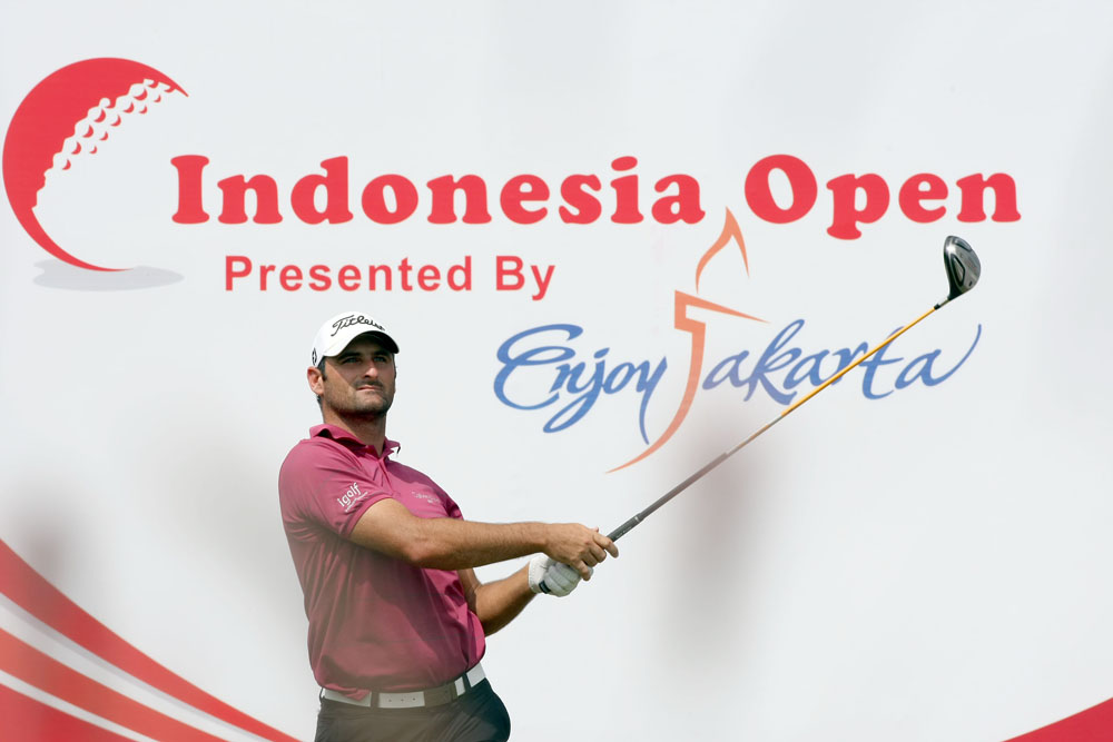 Indonesia open golf logo