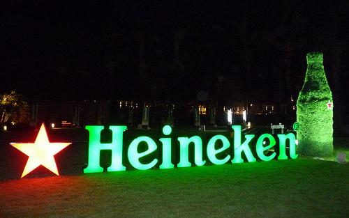 background story of heineken