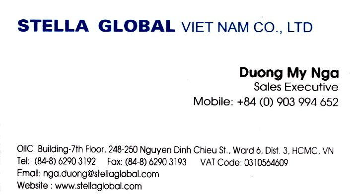 Stella Global Viet Nam