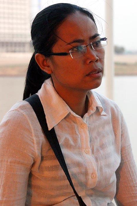 Cambodia Phnom Penh guide Miss Nou Nareth