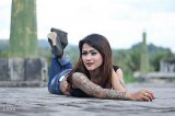Tattoo lady miss Shikha