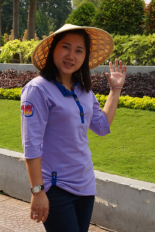 In New WajahAsia Shirt Miss Thao Phuong from Saigon / Ho Chi Minh
