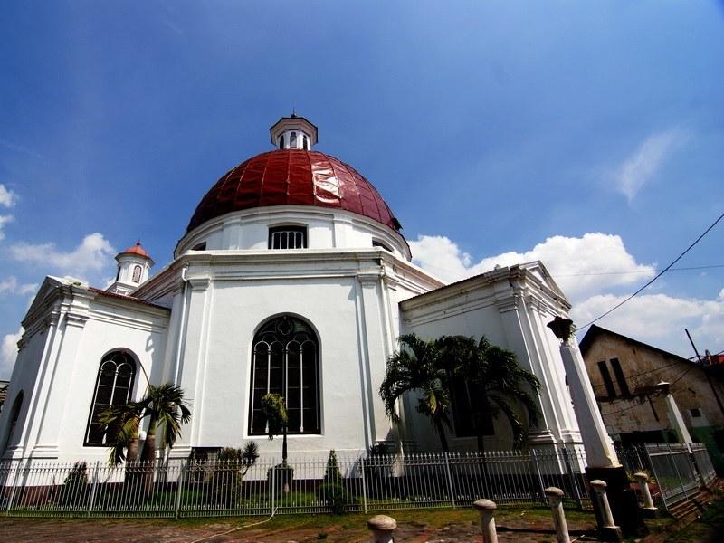 Bleduk church at Semarang