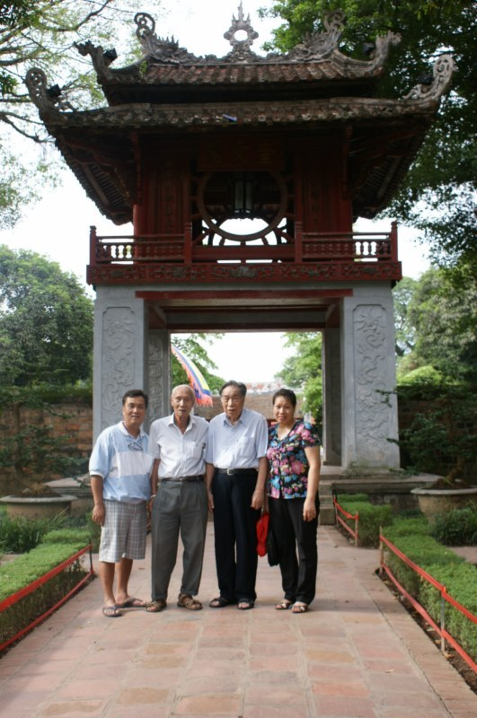 Temple of Literature, Hanoi. The first Vietnamese university